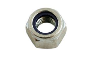 Connect 31353 Steel Metric Nyloc Nut M5 Pack 200